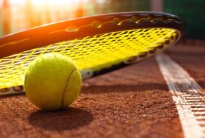 Bespannen von Tennisschlägern